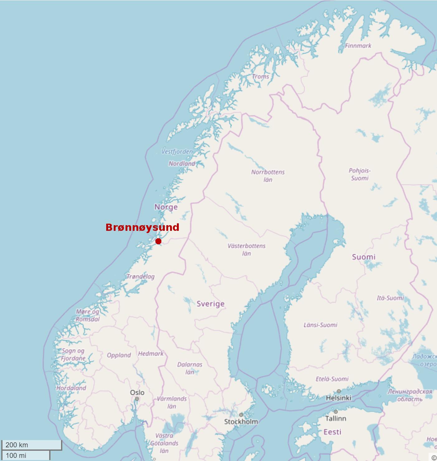 Brønnøysund Norway