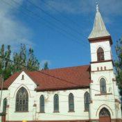 Old ethnic Hancock MI church