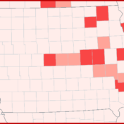 Iowa Coronavirus growth