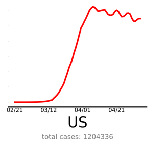 Coronavirus history US