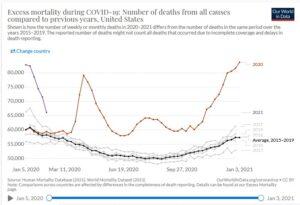 Excess deaths - 2020