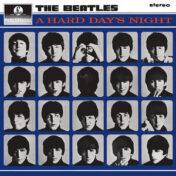 A Hard Days Night U.K. album cover