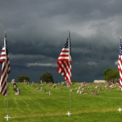 Storm-Clouds-Over-Lamoni-Cemetery